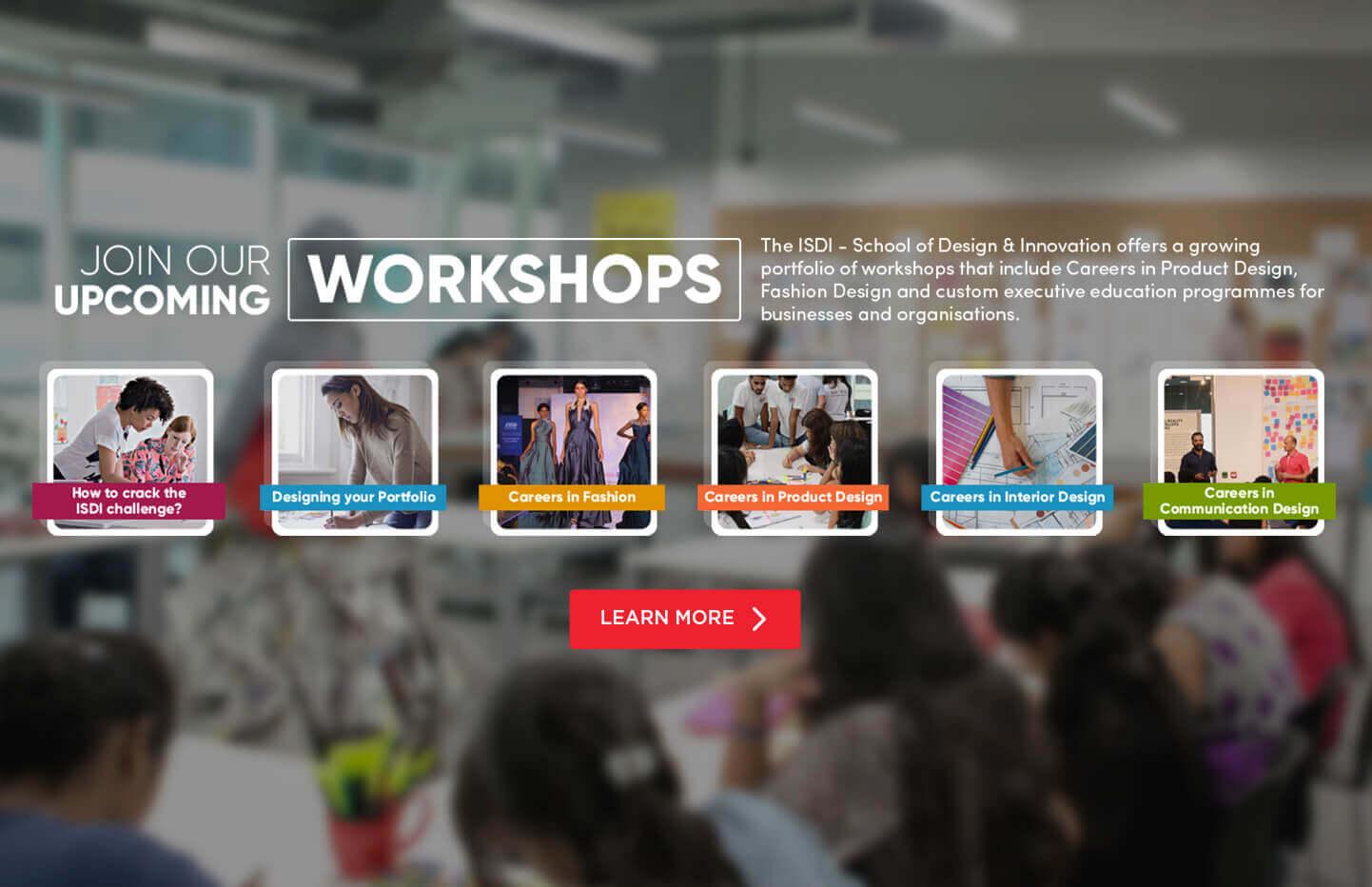 Workshops and Webinars at ISDI